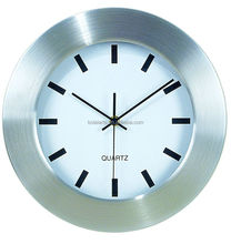 Wholesale promotional cartoon stainless steel office wall clock