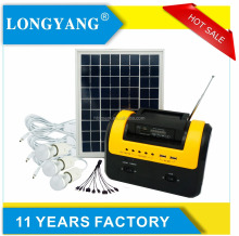 Portable home solar lighting 10W DC 12V Solar Panel Power System Solar Kits