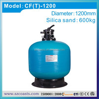 Swimming pool equipment TOP type multi-function switch aquaculture sand filter