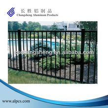 aluminum hand railing/aluminum post glass pool fencing