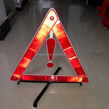 Safety reflector warning triangle for sale