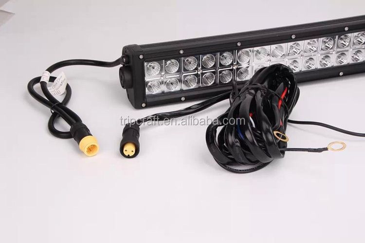 IP68 Approval!!! Factory low price hot sale 240W 42'' 12V 24V waterproof LED light bar with breather vent
