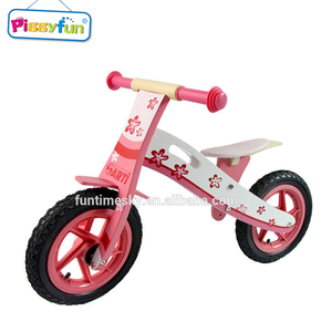 High Quality Children Wooden Balance Bicycle, Kids Wooden Bike Frame AT11323