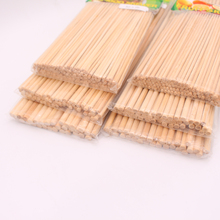 High quality bbq bamboo sticks disposable skewers for party