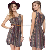 2014 summer fashion latest design indian clothing wholesale casual dress for ladies