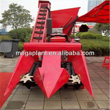 hot sale 2 row corn combine harvester price
