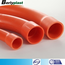 Good electrical insulation 90 Degree Long sweep bend 20mm- 150mm pipe fitting