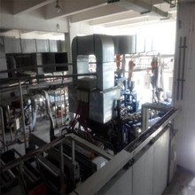 Used German Full Automatic Casting PVC cling film production line