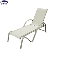 outdoor french antique chaise lounge spa lounge chair with multi-position