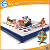 new design hot game inflatable twister game for sale