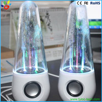 LED dancing water music fountain light speaker for computer mobile phone stereo subwoofer speakers