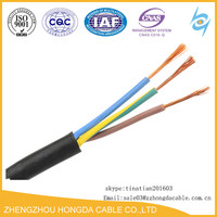 H05VV-F 3X2.5 sqmm copper pvc sheath flexible electrical cables