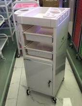 White color hair salon trolley hair beauty trolley QZ-T1030