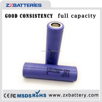 IMR Type and 3.7v Nominal Voltage 18650 2800mah,samsung lithium ion battery cell 18650