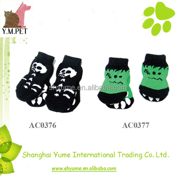 Fashion Pattern Various Anti-slip Dog Socks