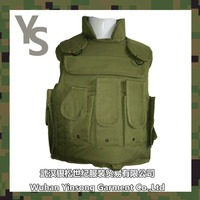 [Wuhan YinSong]Wholesale army green military tactical vest