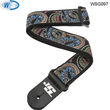 nylon leather polyester Guitar string guitar strap with free sample