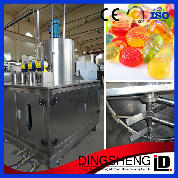 Good quality and design gummy candy making machine