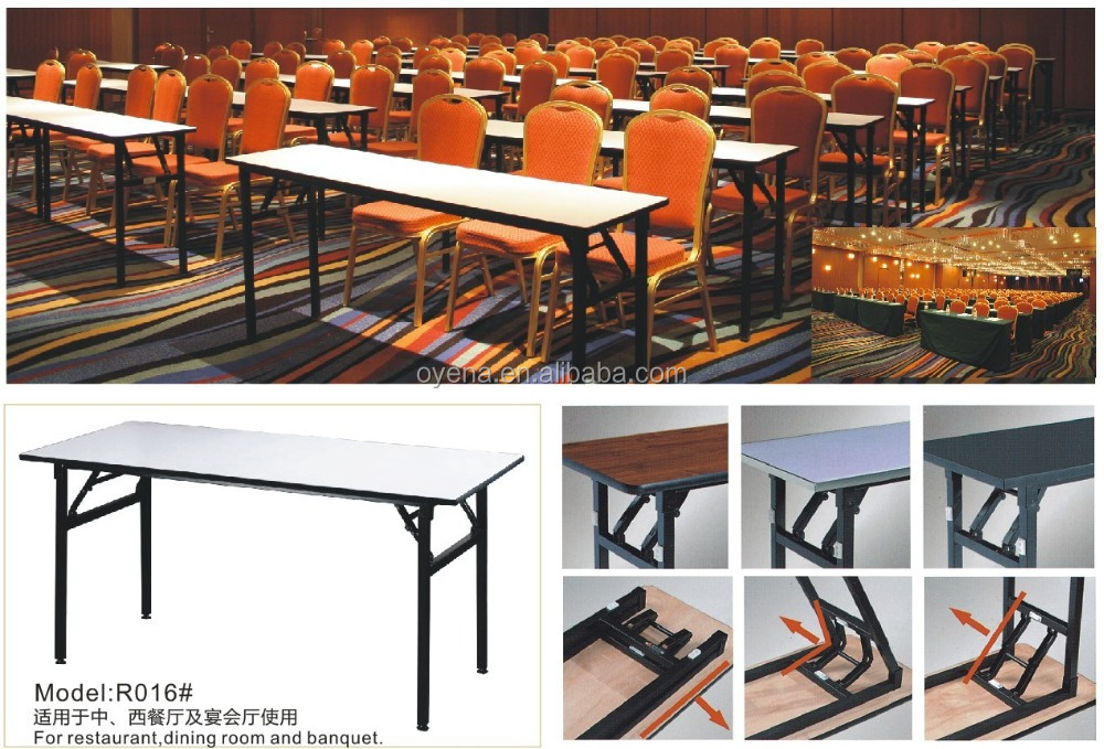 2017 Wholesale Price Banquet Plywood Restaurant Table