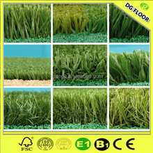 Pile Height 20mm PP+PE 3 Tones 3/8'' Gauge Artificial Grass for Garden and Landscaping