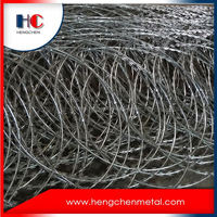 Barbed wire mesh roll price fence