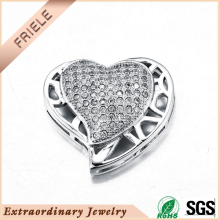 2015 wholesale faith hope love charms 925 silver jewelry necklace women fashion heart shape pendant