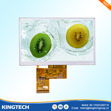 china manufacturer 480*272 5 inch lcd monitor tft touch screen
