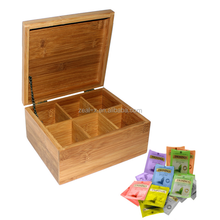 High quality custom hot sale in Gremany wooden box for tea bags