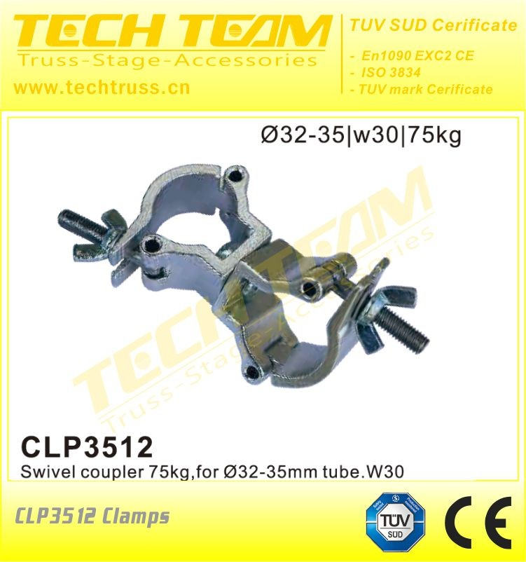 exquisite processing lock 30 to 35 mm butterfly nut truss clamps