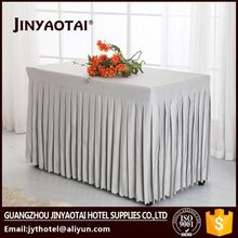 Ruffled Table Skirting,Table Skirts,Steps In Table Skirting