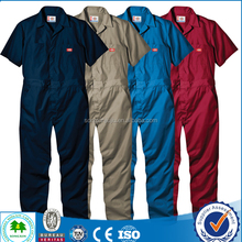 wholesale EN20471 fluorescent high visibility boiler suit with hi vis fabric