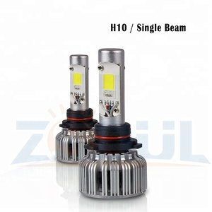 H13 2 in1 RGB LED Headlight Bulb Kit By Smartphone App Controlled Bluetooth RGB Demon Eye And LED Headlight Color Changing