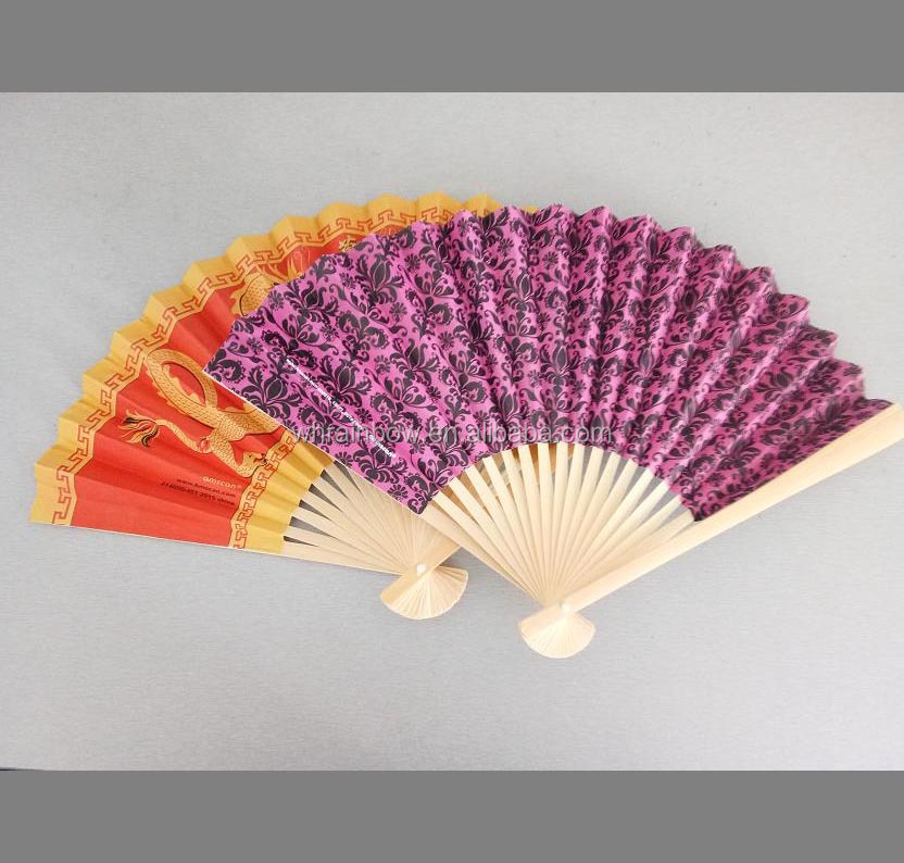 Chinese Personalized Design Foldable Bamboo Hand Fan