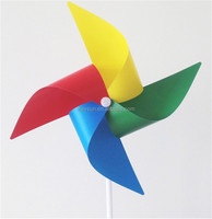 kids windmills plastic windmill toy boys&girls classic toys Diy windmills solid rod colorful windmill toy