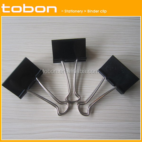 Wholesale paper box and pvc box package book binding clip