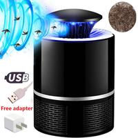 2020 New USB Powered UV LED Electronic Waterproof Mosquito Killer Lamp