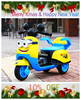 Toys For Kids Electric Battery Motorcycle Kids Motorcycle For Driving