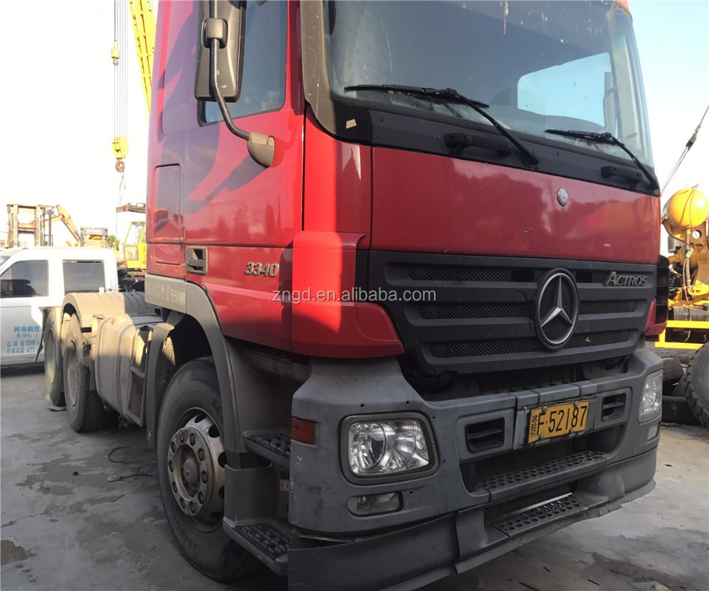 Used Benzz 3340 truck head 25t made in 2009 used condition Benzz Actros 3340 model TRACTOR truck for sale