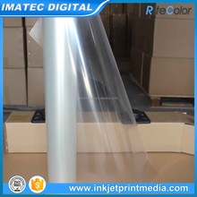 100micron PET Dye Based Clear Transparent Inkjet Plate Making Film