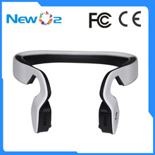 2017 New Design Wireless Long Distance Range Bluetooth Built-in Microphone Bone Conduction Headphones Earphone Headset