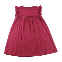 bulk wholesale kids baby party wear clothes kids new style party wear frocks image fashion 2 year old girl dress
