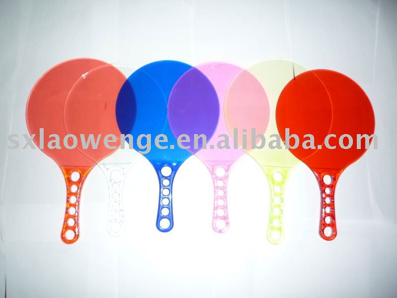 Outdoor sport plastic beach racket