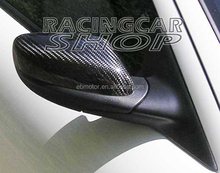 REAL CARBON FIBER WING MIRROR COVER 1pair For 03-11 MAZDA RX-8 RX8 R3 SE3P 13B MAZDASPEED T045M
