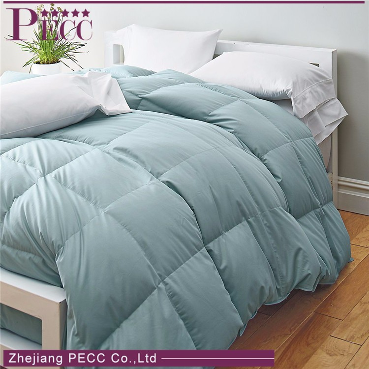 High Quality Super Soft Five-Star Hotel Pure White Luxury Goose Down Comforter