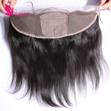 Stock Selling Natural Color Brazilian Virgin ear to ear 13x4 silk base closures lace frontal hair