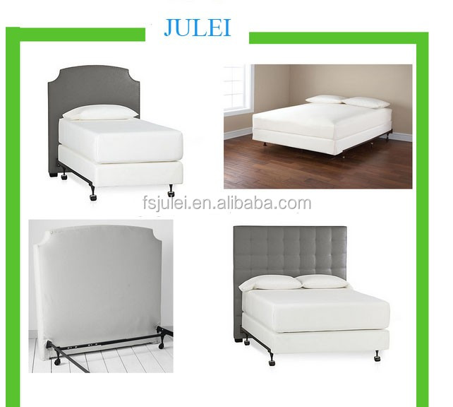 adjustable size heavy duty one package metal bed frame DJ-Q02