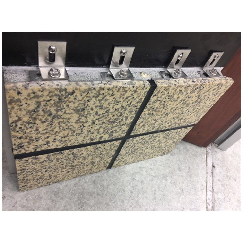 Granite decorative integrate thermal insulation exterior wall cladding panel