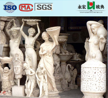 YongHong Brand GRC large sculptures for interior outdoor decoration