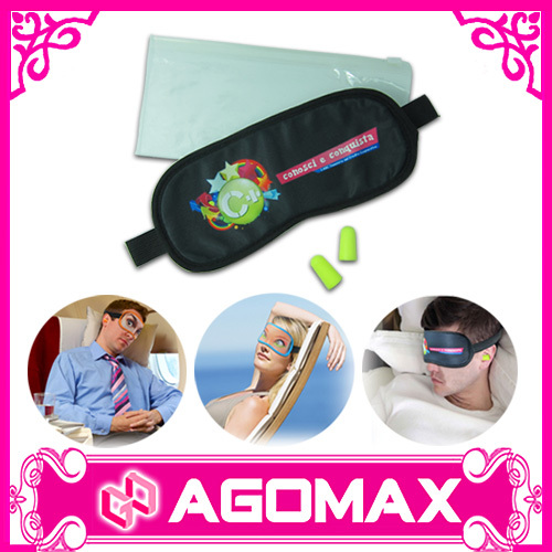 Novely sleeping eye mask travel kit eye cover sleeping eyeshades kit