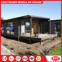 20ft 40ft fast assembly light steel structure villa luxury modern modular home prefabricated container villa